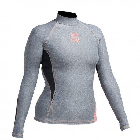 Блуза ликра с ултравиолетова защита GUL дамска Swami дълъг ръкав MRBK - 1