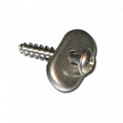 Screw and stopper for straps