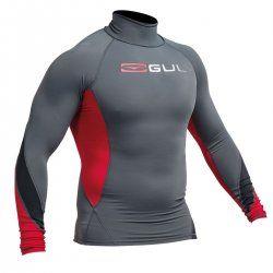Блуза ликра с пълна ултравиолетова защита GUL мъжка Xola Rashguard дълъг ръкав ASRE