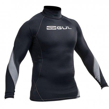 Блуза ликра с ултравиолетова защита GUL мъжка Xola дълъг ръкав BKBK - 1