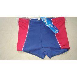 Детски бански момчета боксер Prestige 0046 син с червено