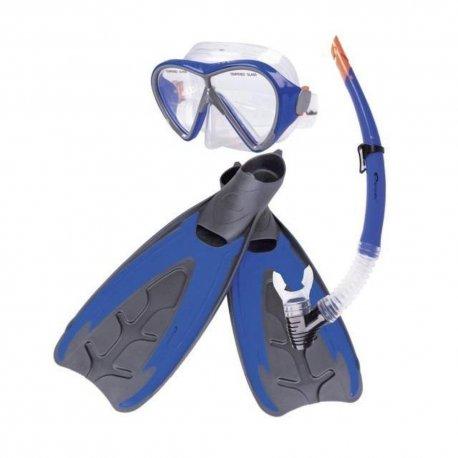 Mask, Snorkel and fins Set Spokey Merquis - 1