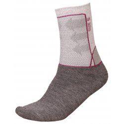 Socks Alpine Pro Jarix 826 grey pink