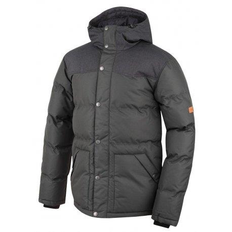 Men's jacket Hannah Slasher Black mel/peat - 1