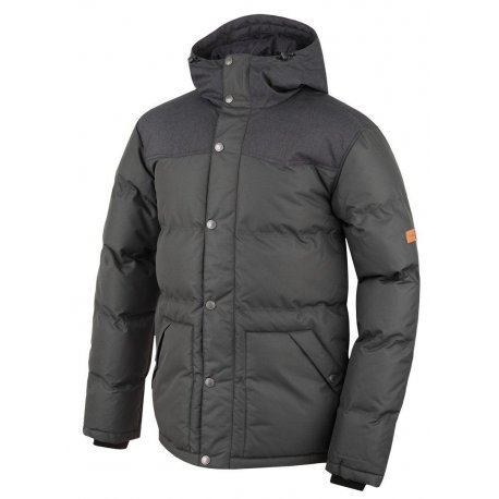 Men's jacket Hannah Slasher Black mel/peat - 1