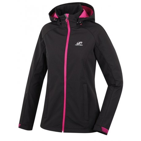 Women's Softshell jacket Hannah Elle Anthracite - 1