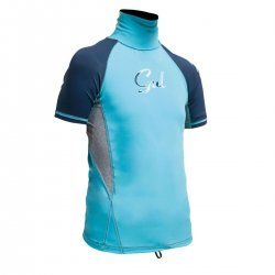 Rashguard GUL kids short sleeve TUNA