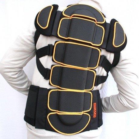Back protector Orange 3x1 - 1