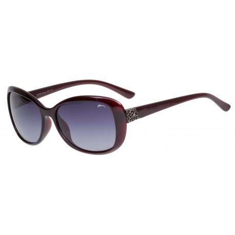 Sunglasses Relax Leila R0298E dark wine shiny - 1