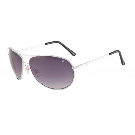 Слънчеви очила Relax Barbada R2220 silver shiny - 1