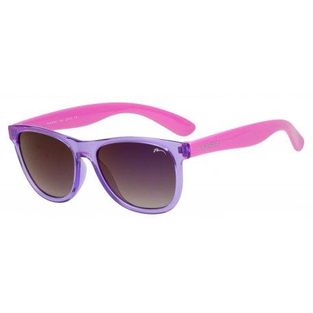 Kids sunglasses Relax Kili R3069C violet shiny - 1