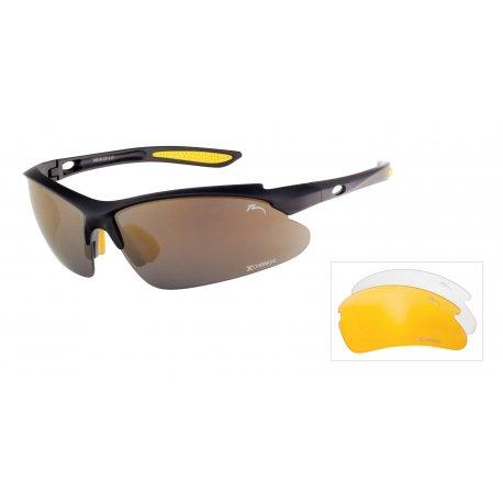 Слънчеви очила с 3 плаки Relax Mosera R5314C - 1