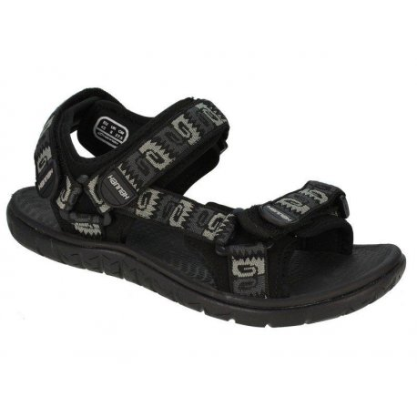 Sandals Hannah Strap Anthracite - 1