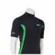 Rashguard Ascan short sleeve black/green - 1