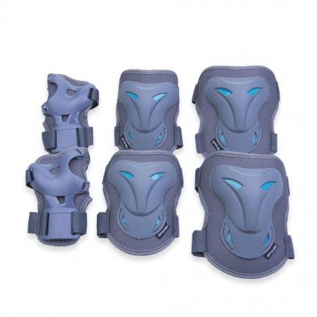 Протектори за колене, лакти и китки Spokey Poleyn сиви - 1