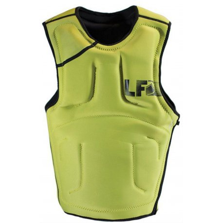 Liquid Force Supreme Impact Vest BLK/YEL - 1