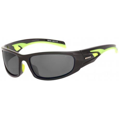 Sunglasses Relax Nargo R5318Е shiny black, neon yellow - 1