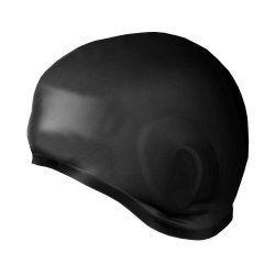 Плувна шапка Spokey Earcap черна 837422