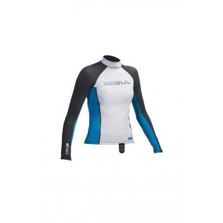Блуза ликра с ултравиолетова защита GUL детска дълъг ръкав WHBL - 1