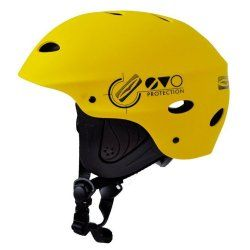 Каска за водни спортове GUL Evo жълта