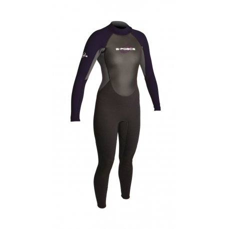 Wetsuit women GUL 3mm G-Force Violet - 1