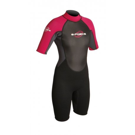 Wetsuit womens GUL 3mm G-Force short - 1