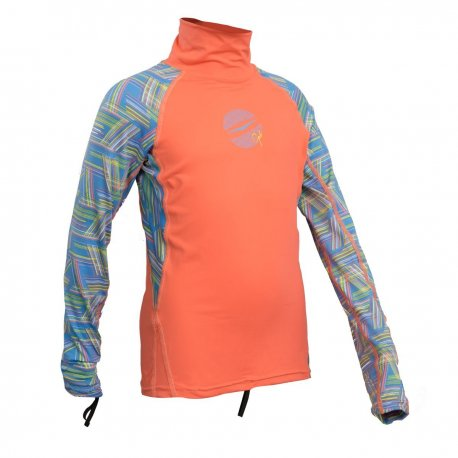 Блуза ликра с ултравиолетова защита GUL детска дълъг ръкав CRLN - 2