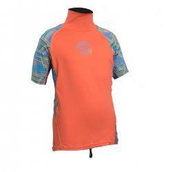 Блуза ликра с ултравиолетова защита GUL детска къс ръкав CRLN