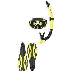 Комплект маска, шнорхел и плавници GUL Adult Taron