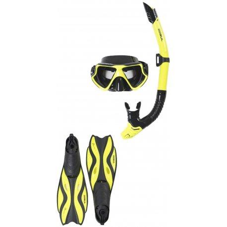 Комплект маска, шнорхел и плавници GUL Adult Taron - 1