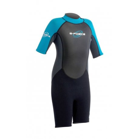 Wetsuit kids GUL 3mm G-Force къс - 1