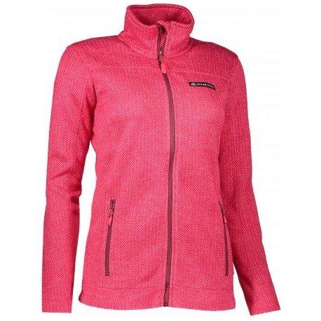Дамски суитшърт Alpine Pro Eneasa розов - 1
