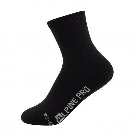 Чорапи Alpine Pro Uliano черни - 1