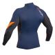 Блуза ликра с пълна ултравиолетова защита GUL мъжка Xola Rashguard дълъг ръкав BLOR - 2