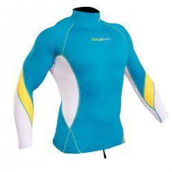 Блуза ликра с ултравиолетова защита GUL Xola дълъг ръкав CPWH