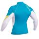 Блуза ликра с ултравиолетова защита GUL Xola дълъг ръкав CPWH - 2