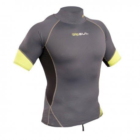 Блуза ликра с ултравиолетова защита GUL мъжка Xola Rashguard къс ръкав GPLI - 1