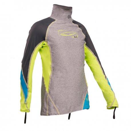 Блуза ликра с ултравиолетова защита GUL детска дълъг ръкав Rashguard MRLI - 1