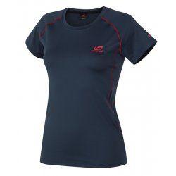 Дамска тениска бързосъхнеща Hannah Speedlora Midnight navy