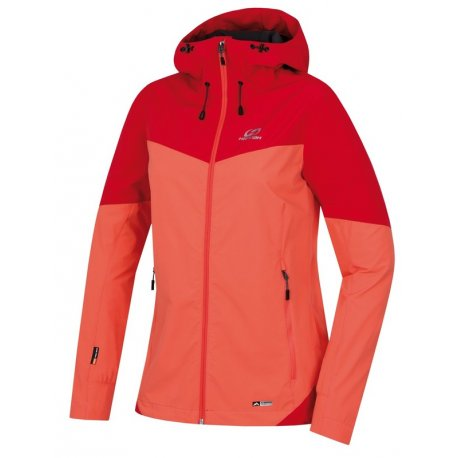 Women's Softshell jacket Hannah Suzzy Living coral - 1