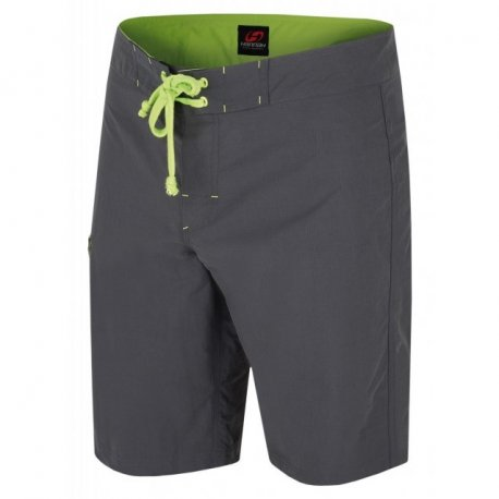 Men's shorts Hannah Vecta Dark shadow / green - 1