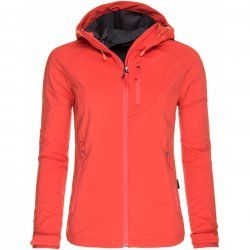 Women's Softshell jacket Hannah Casia Hot coral
