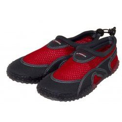Плажни обувки детски GUL Aqua Shoe червени, неопрен и UV защита