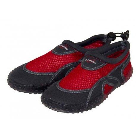 Неопренови ръкавици, боти, чорапи и бонета - Плажни обувки детски GUL Aqua Shoe червени, неопрен и UV защита