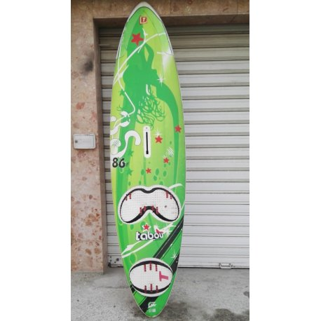 Windsurf board Tabou 3S 86L w/o fin and straps - 1