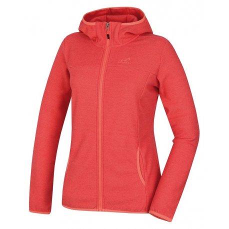 Women's sweatshirt Hannah Bernie Coral stripe - 1