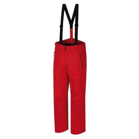 Мъжки панталон за ски и сноуборд Hannah Jago Racing red - 1