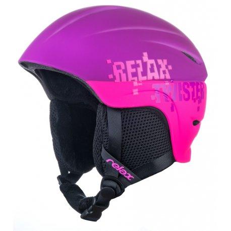 Каска за ски и сноуборд детско-юношеска Relax Twister RH18R - 1