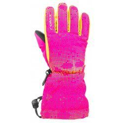 Children's gloves Relax Puzzy RR15E pink