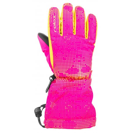 Children's gloves Relax Puzzy RR15E pink - 1